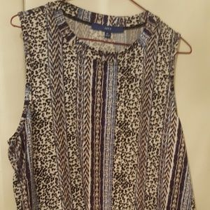 Womens apt 9 sleeveless top size xl